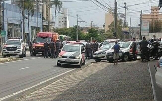 Homem  preso aps perseguio no Botafogo