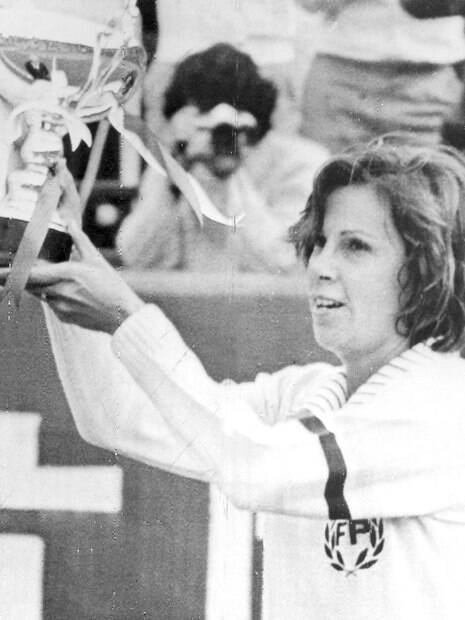 Maria Esther Bueno venceu 19 das 34 finais de Grand Slam que disputou