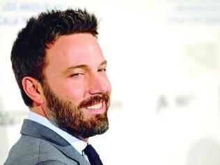 Peludo. O ator Ben Affleck é um dos que adotam a barba sempre que não tem que manter o rosto barbeado por causa de seu trabalho