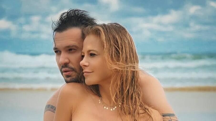 Jackeline Petkovic e Bruno Araújo