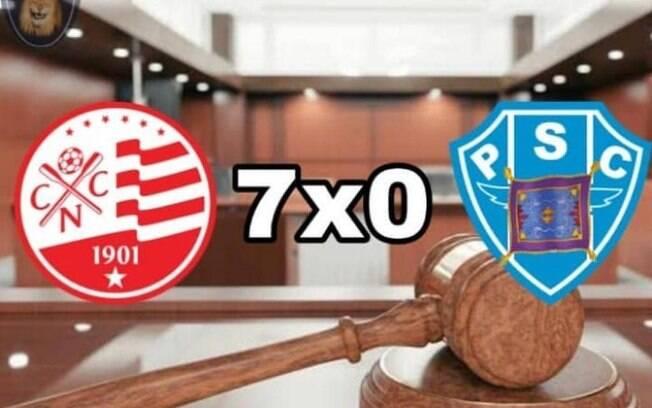 Internautas não perdoaram a derrota do Paysandu no STJD