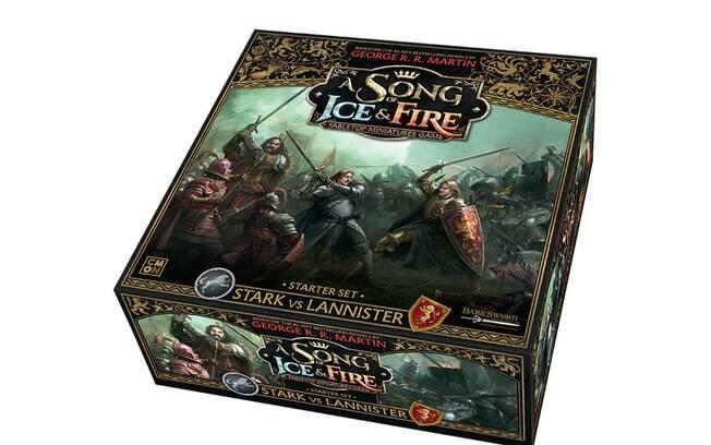 O novo jogo de Game Of Thrones trará reproduções dos personagens em miniaturas para o tabuleiro