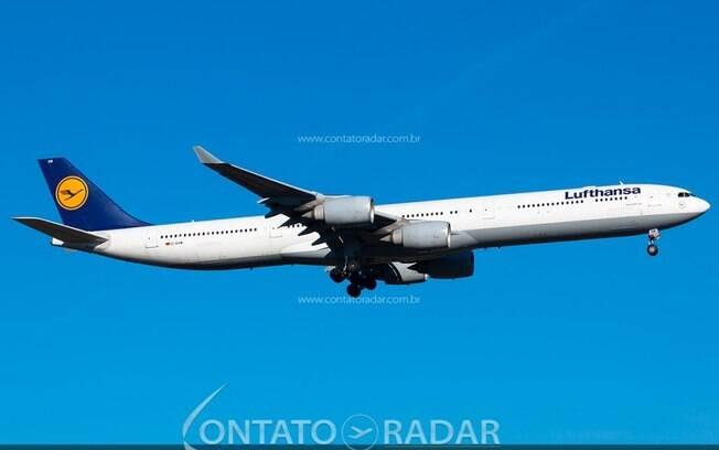 Lufthansa não voará novamente sua frota de jatos Airbus A340-600