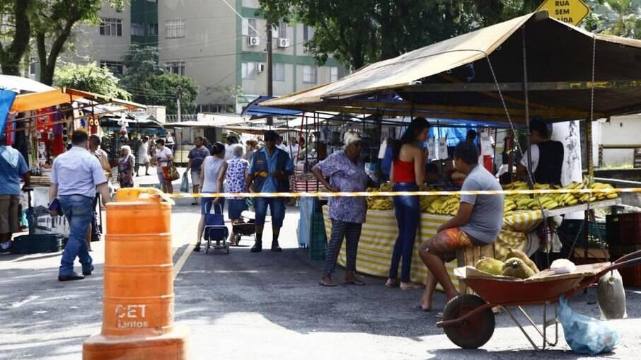 Feiras estão suspensas na cidade até decisão sobre as ações futuras entre feirantes e a prefeitura