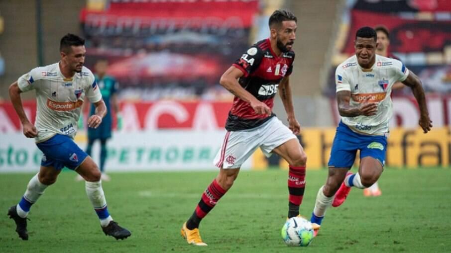 Fortaleza recebe o Flamengo pelo Brasileirão