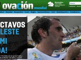 Ovación exalta a classificação uruguaia