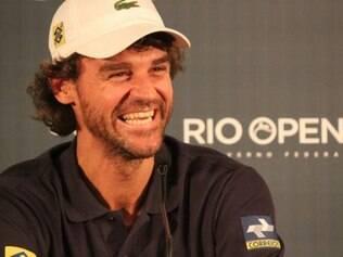 Guga afirmou sentir 'invejinha' de participantes do Rio Open