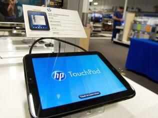 O tablet TouchPad, da HP, teve vida curta, de apenas dois meses, antes de ser cancelado