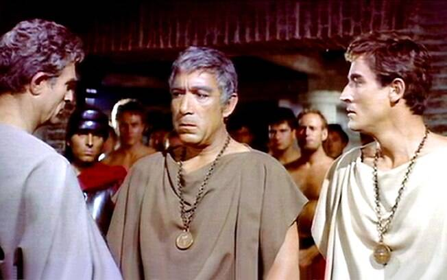 Com Anthony Quinn, 'Barrabás' foi lançado em 1961 por Richard Fleischer . Foto: Divulgação