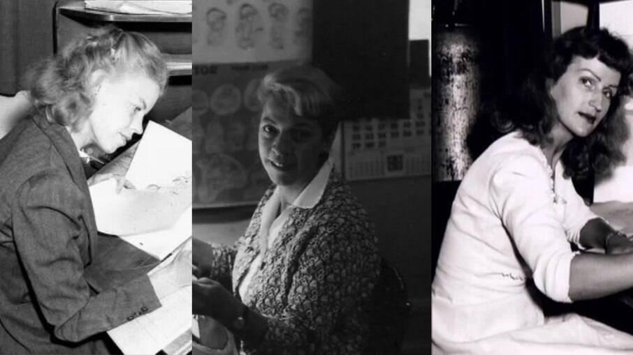 Retta Scott, Reeta Davidson e Mary Blair