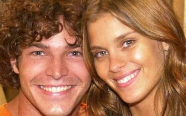 Carolina Dieckmann e Erik Marmo em