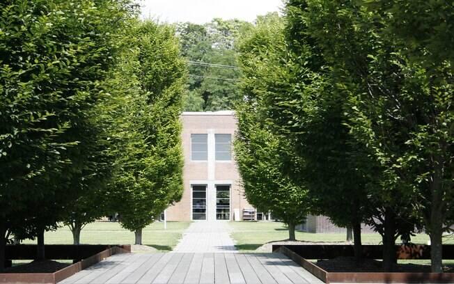 Museu Dia:Beacon, na margem oposta do rio Hudson