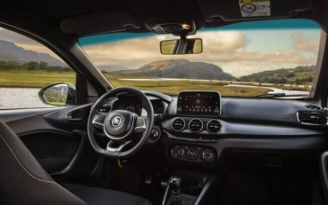 Fiat Argo Trekking. Foto: Divulgação