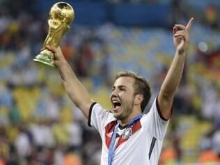 Com apenas 22 anos, Mario Götze já marcou seu nome para sempre na história do futebol