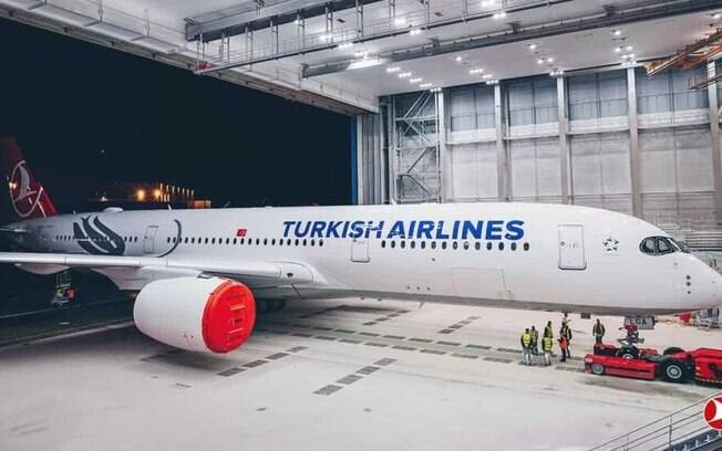 Turkish recebe seu primeiro Airbus A350