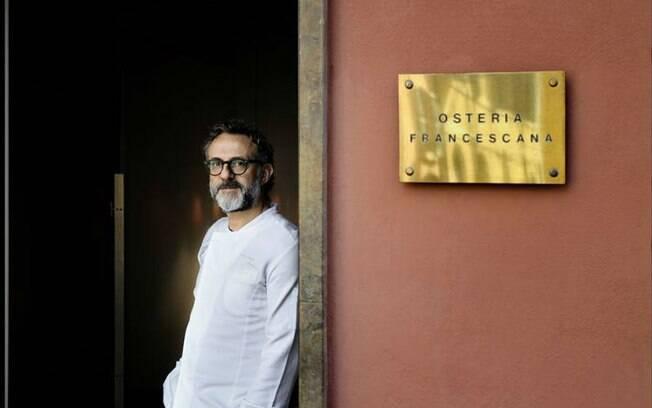 O restaurante Osteria Francescana, de Massimo Bottura, ficou em primeiro lugar em ranking dos melhores restaurantes do mundo