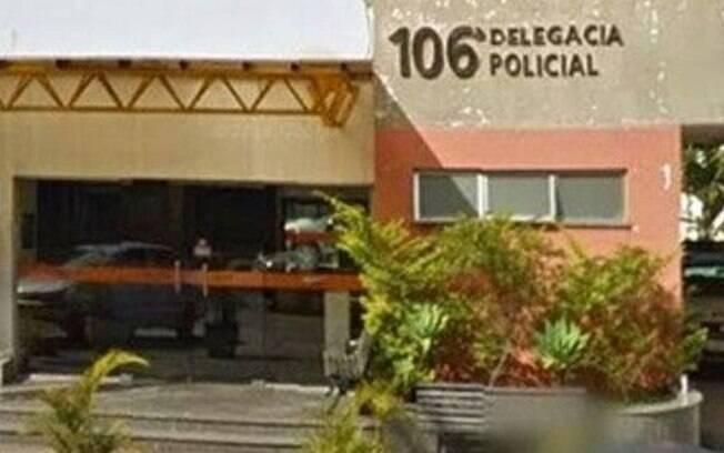Fachada da delegacia de Itaipava