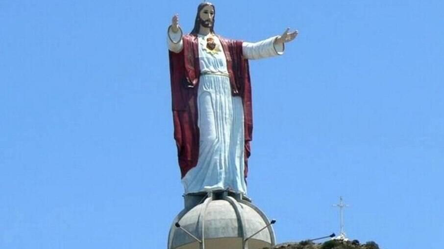 Sagrado Coração fica na cidade de El Morro, no estado de Baixa Califórnia, no México