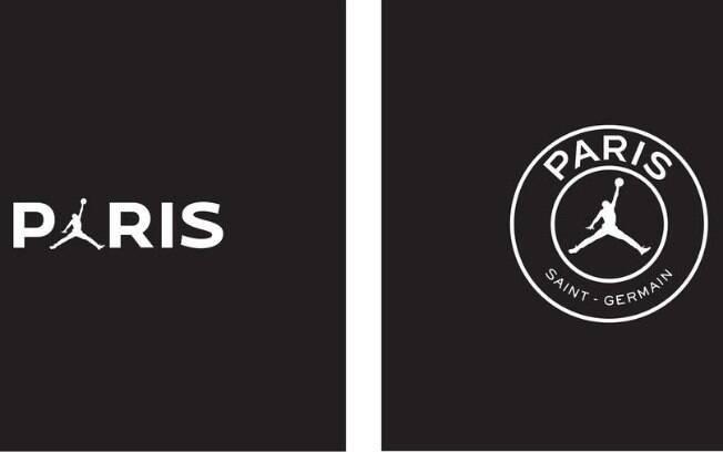 Logo do PSG com a marca de Michael Jordan