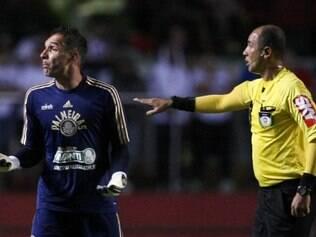 Goleiro considerou que o clássico foi equilibrado, mesmo com a derrota do Palmeiras para o São Paulo