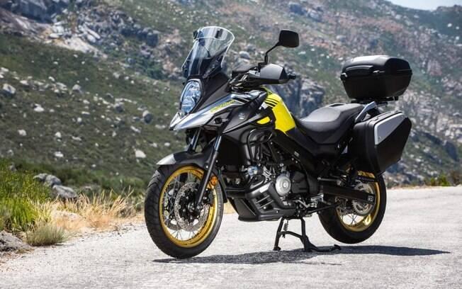 Suzuki V-Strom atual é a única trail da marca e concorre com marcas premium