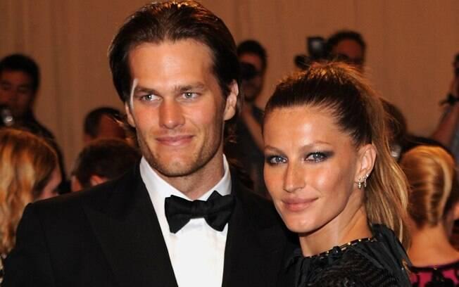 Gisele Bündchen e Tom Brady: o casal que mais faturou entre maio de 2010 e maio de 2011: R$ 120 milhões