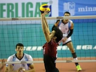 Rodrigo reforça a importância do saque diante do segundo colocado