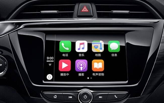 Central multimídia do Chevrolet Prisma ficará mais bem posicionada no painel que na atual geração do sedã