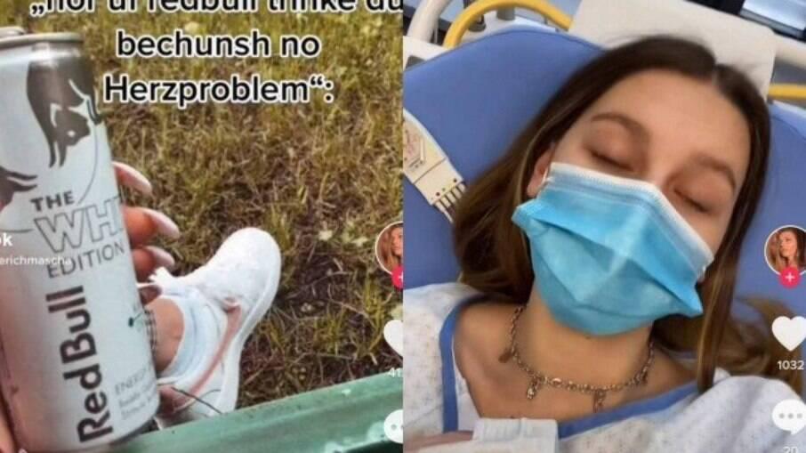 Após beber 12 latas de energético em um dia, jovem é internada na Suíça