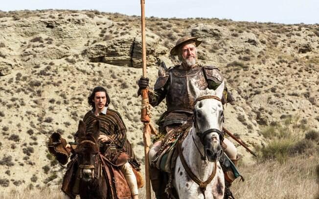 Cena de O Homem que Matou Dom Quixote, que estreia na quinta-feira (30) nos cinemas brasileiros