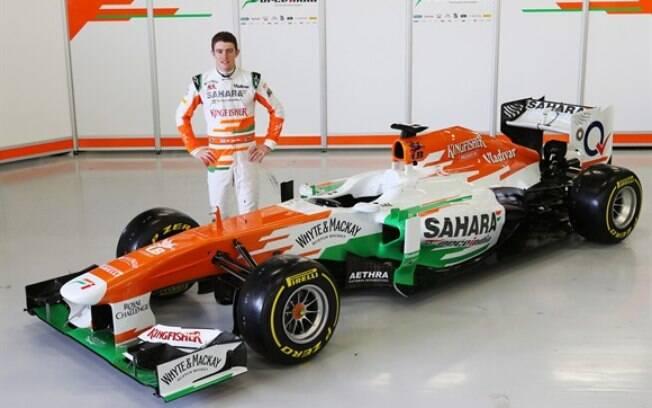 A Force India é a única escuderia que ainda  não definiu sua dupla para a temporada