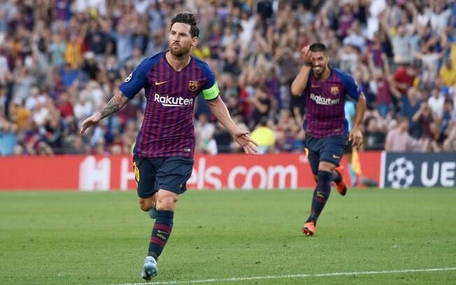 Messi, astro do Barcelona