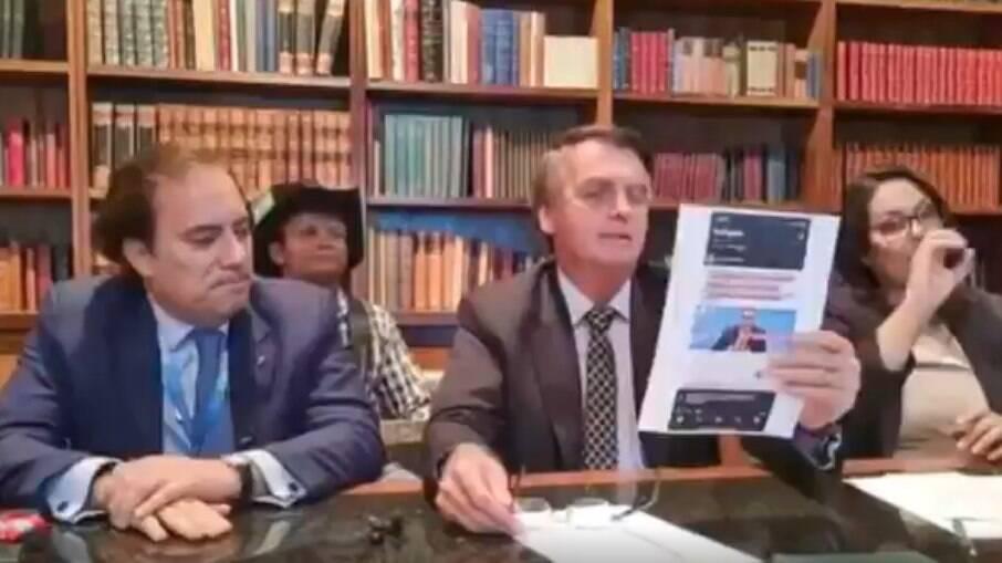 Presidente Jair Bolsonaro criticou CoronaVac