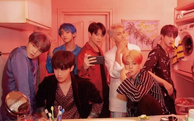 BTS é uma das maiores bandas de k-pop no mundo