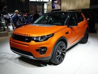 Salão de Paris 2014 - Land Rover Discovery Sport