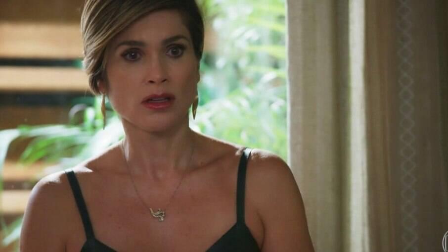 Helena faz revelação em 'Salve-se Quem Puder'