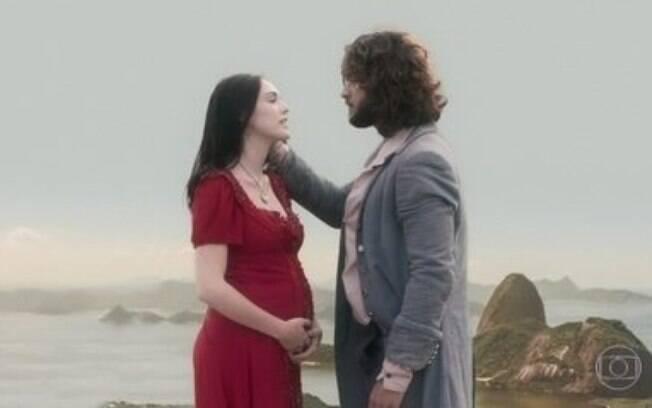Anna e Joaquim  vão ter um filho, em