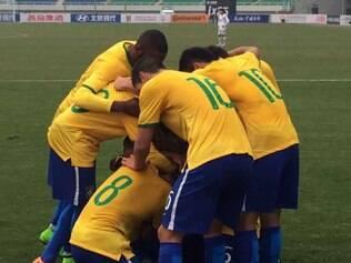 Gols da partida foram marcados por Felipe Anderson, Ryder Matos e Felipe Gedoz