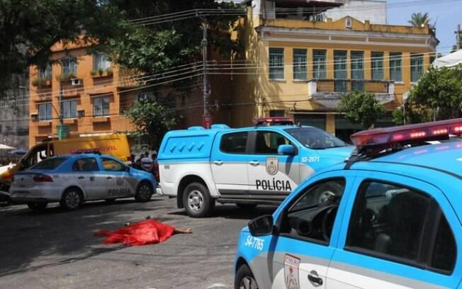 Uma pessoa morreu e outras três ficaram feridas no bloco Céu na Terra, em Santa Teresa