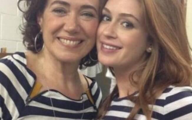 Lilia Cabral negou, mas alguns boatos diziam que ela e Marina Ruy Barbosa haviam brigado nos bastidores da novela