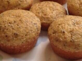 Pão integral em formato de cupcake. Clique na foto e aprenda a fazer