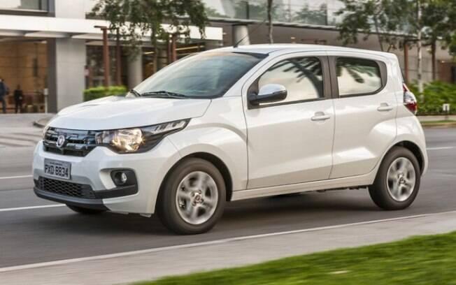 Fiat Mobi: ocupando as posições mais baixas do Top 10, mostra que carros populares já não vendem como antigamente