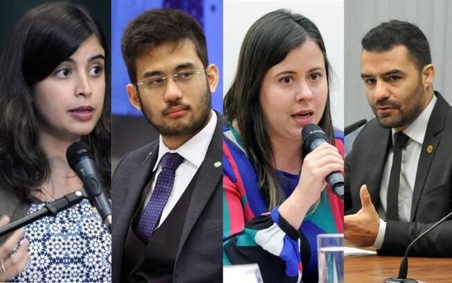 Tabata Amaral, Kim Kataguiri, Sâmia Bomfim e Arthur do Val estão entre os novos nomes da política