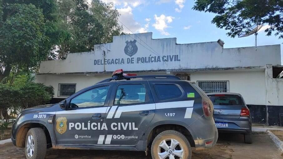 Suspeito foi preso em Simolândia, no nordeste de Goiás