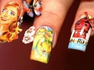 Arte nas unhas
