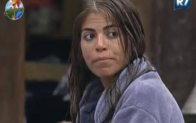 Raquel Pacheco contou às peoas que se masturbou enquanto estava na Roça