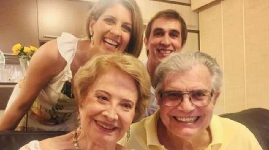Tarcísio Meira em família