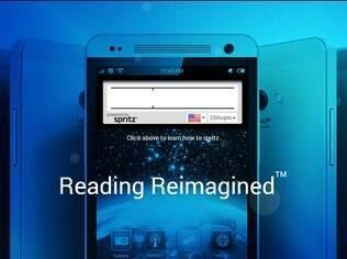 Tecnologia desenvolvida pela Spritz acelera a leitura em telas
