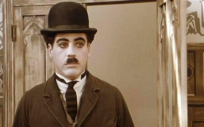 Downey Jr em 'Chaplin' (1992). Foto: Divulgação