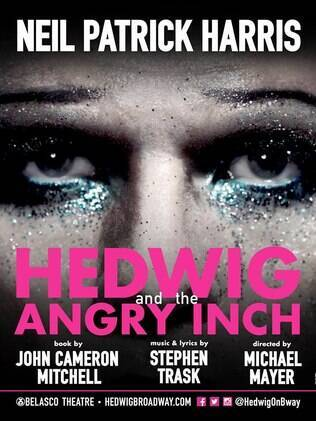 "Poster de ""Hedwig and the Angry Inch"", que estreia no dia 22 de abril na Broadway"